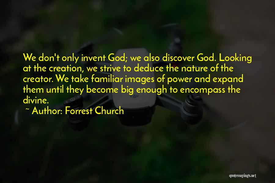 Nature Images Quotes By Forrest Church