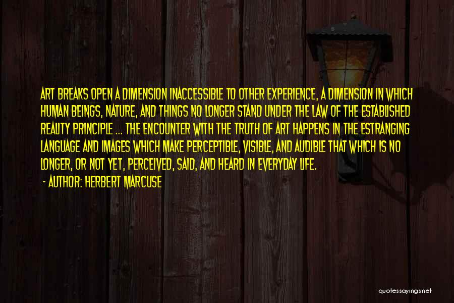 Nature Images Quotes By Herbert Marcuse