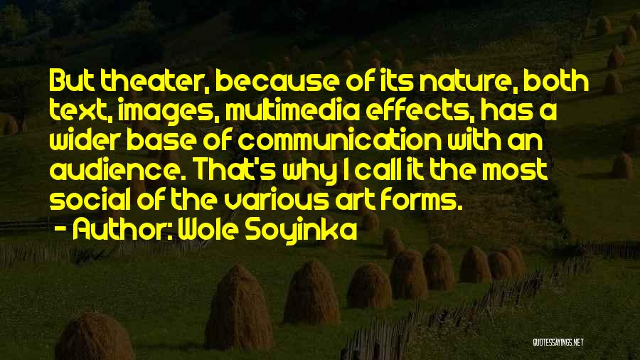 Nature Images Quotes By Wole Soyinka