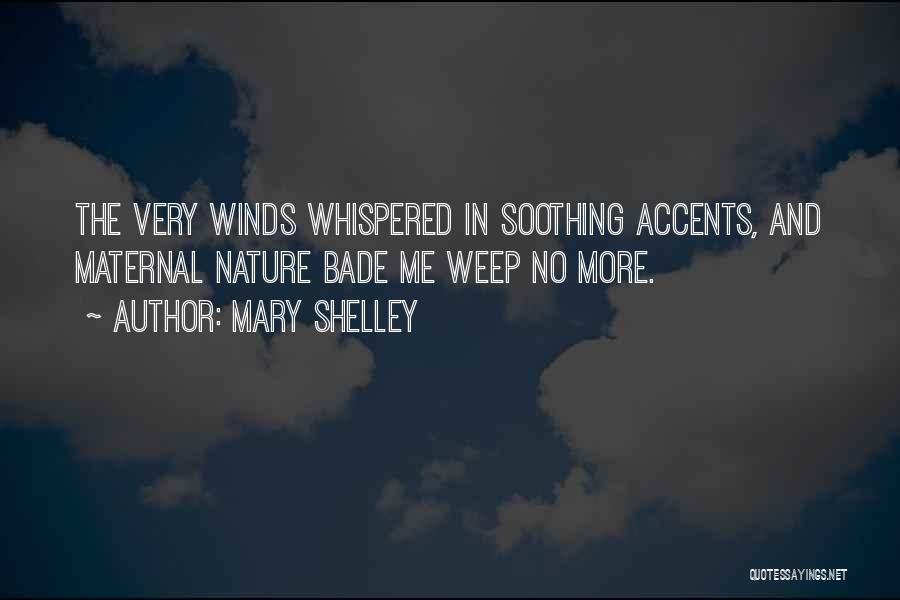 Nature In Frankenstein By Mary Shelley Quotes By Mary Shelley