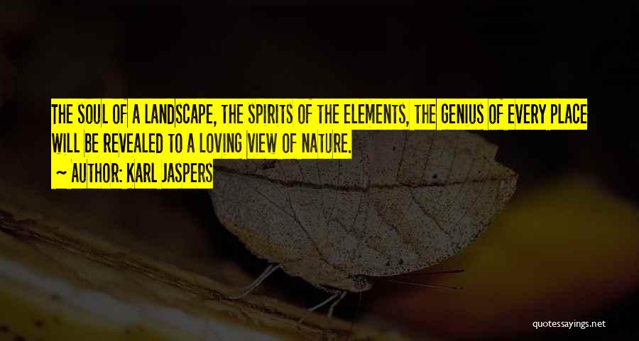 Nature Loving Quotes By Karl Jaspers