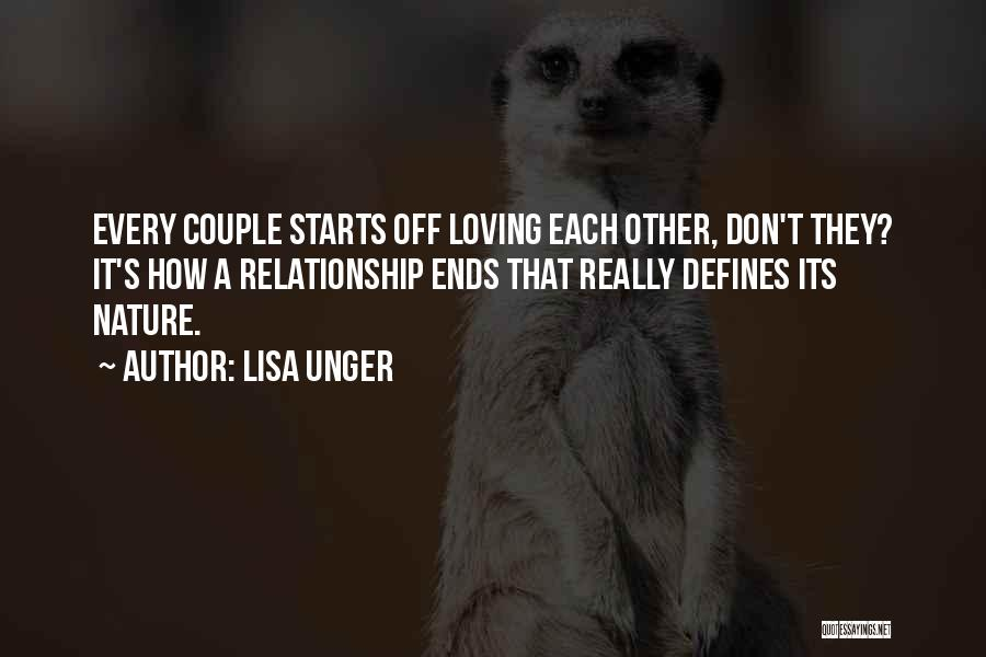 Nature Loving Quotes By Lisa Unger