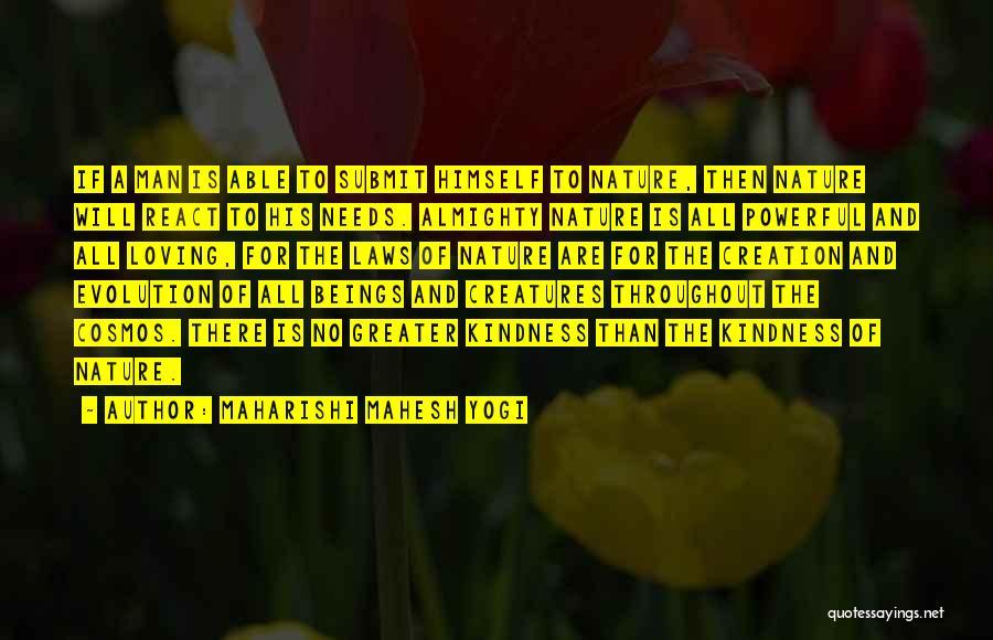 Nature Loving Quotes By Maharishi Mahesh Yogi