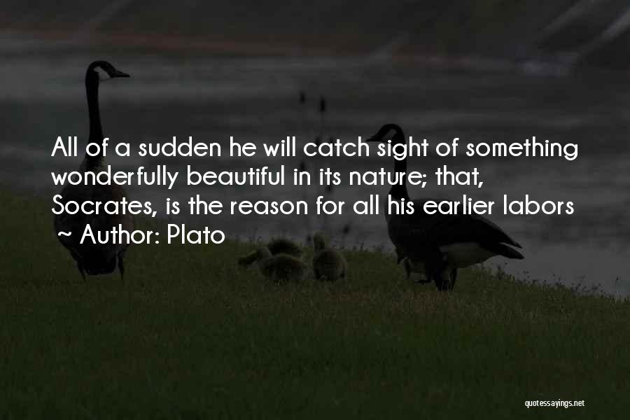Nature Loving Quotes By Plato