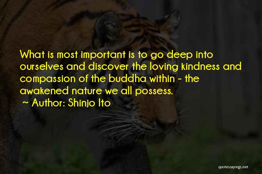 Nature Loving Quotes By Shinjo Ito