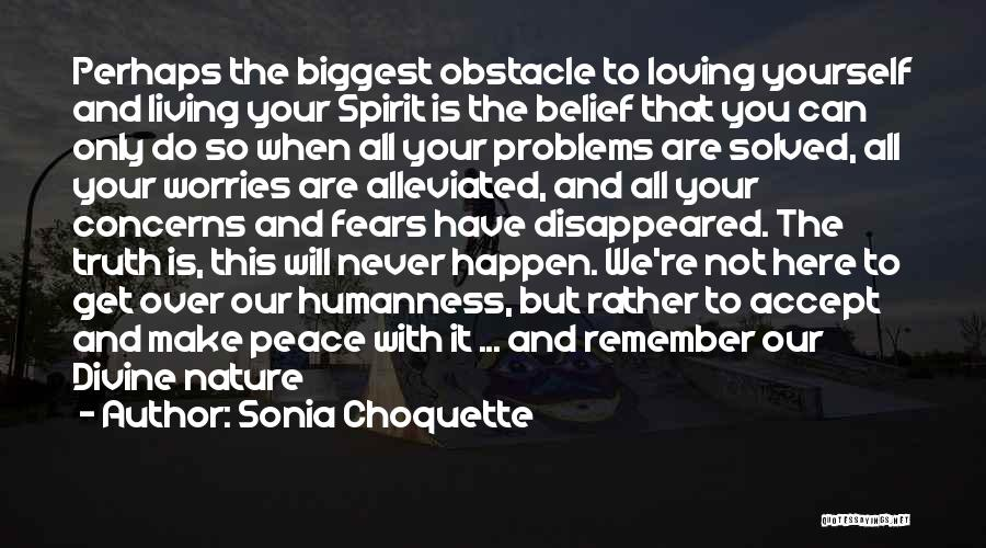 Nature Loving Quotes By Sonia Choquette