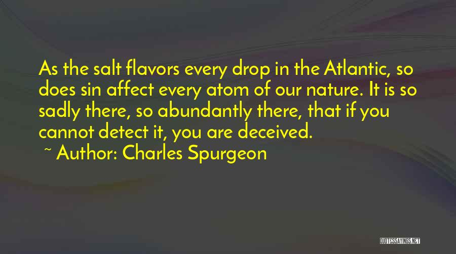 Nature Of Quotes By Charles Spurgeon