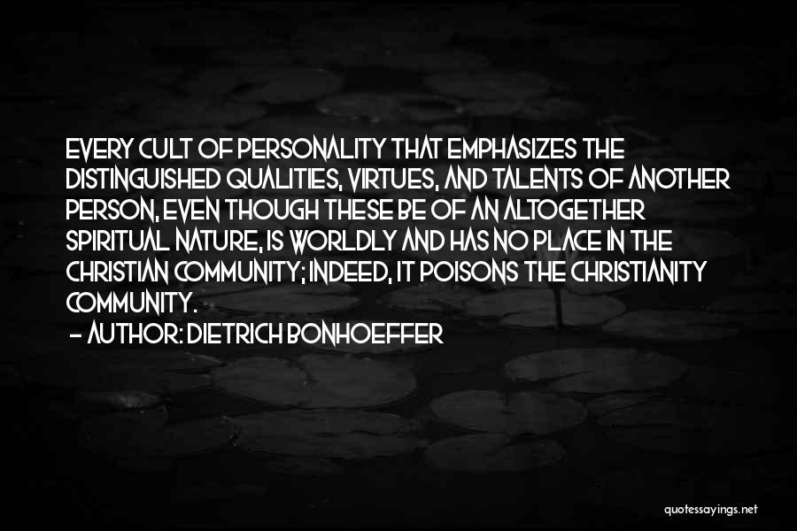 Nature Of Quotes By Dietrich Bonhoeffer