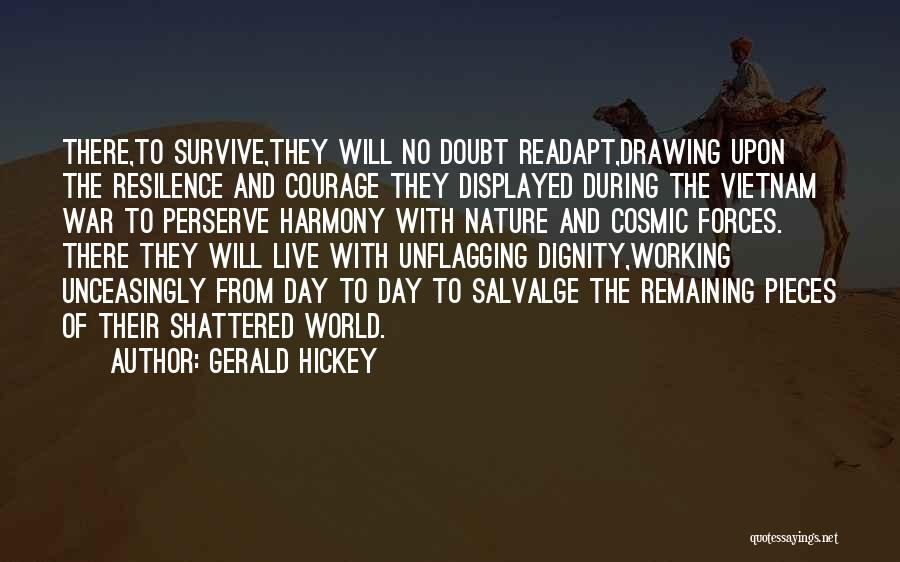 Nature Of Quotes By Gerald Hickey