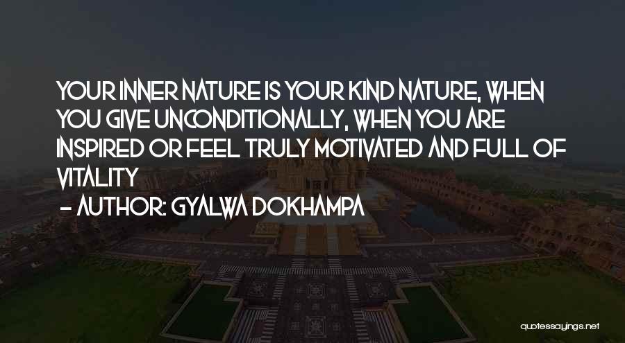Nature Of Quotes By Gyalwa Dokhampa