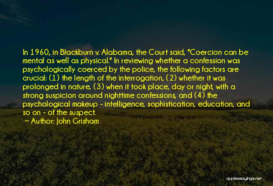 Nature Of Quotes By John Grisham
