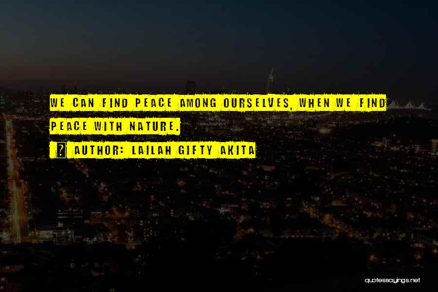 Nature Of Quotes By Lailah Gifty Akita
