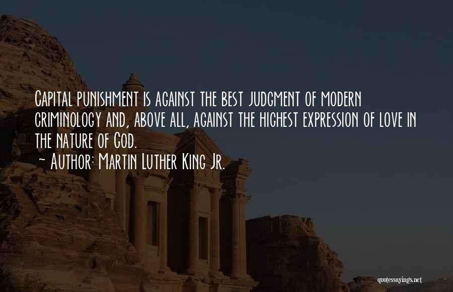 Nature Of Quotes By Martin Luther King Jr.