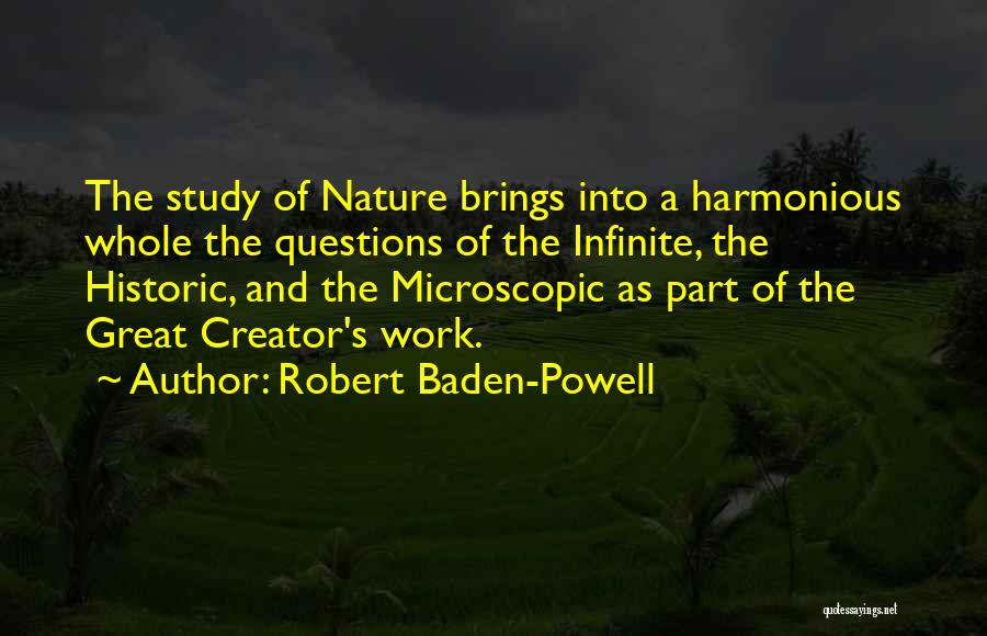 Nature Of Quotes By Robert Baden-Powell