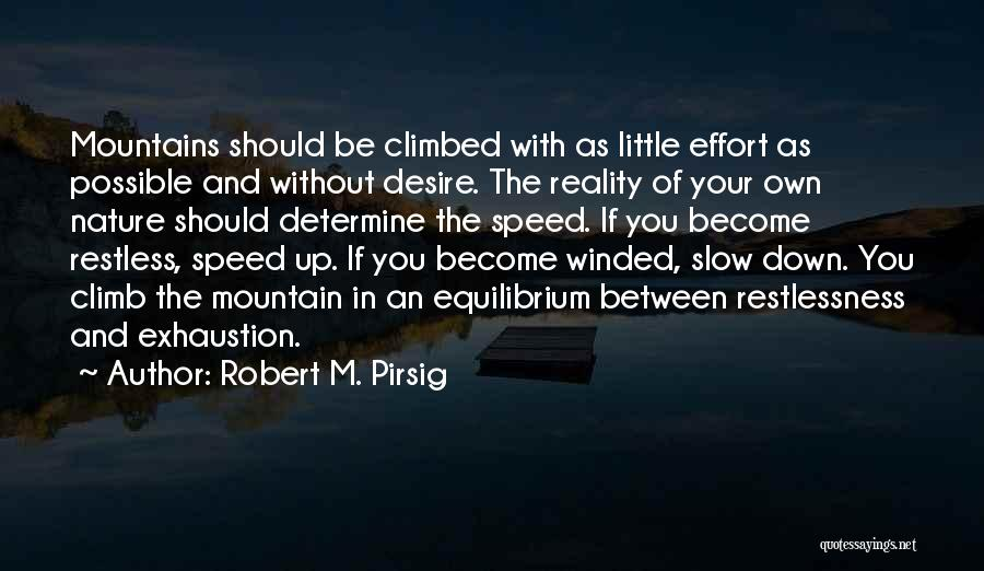 Nature Of Quotes By Robert M. Pirsig