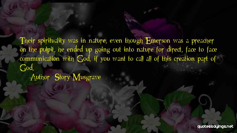 Nature Of Quotes By Story Musgrave