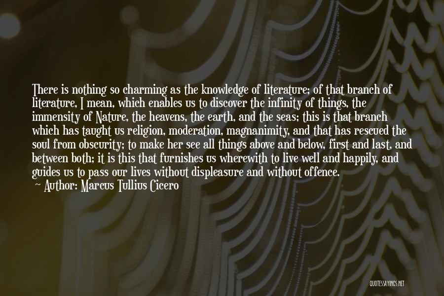 Nature Of Things Quotes By Marcus Tullius Cicero