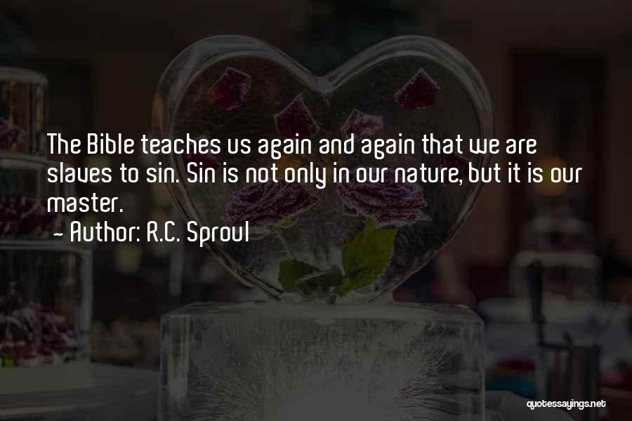 Nature Teaches Us Quotes By R.C. Sproul