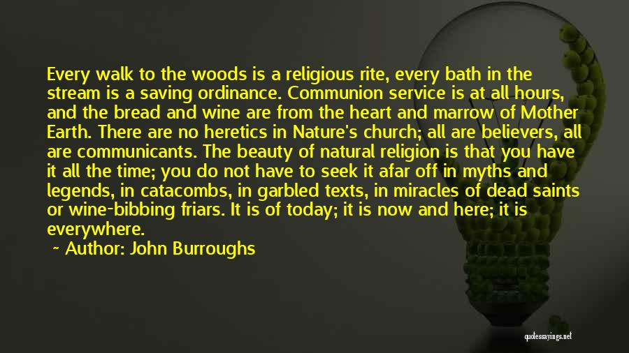 Nature Walk Quotes By John Burroughs