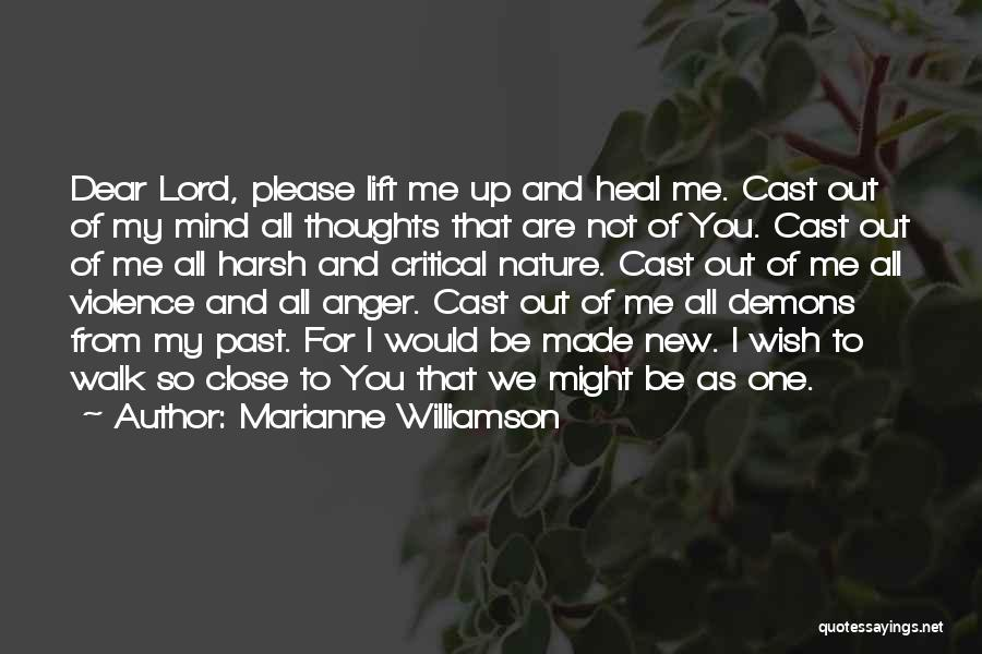 Nature Walk Quotes By Marianne Williamson