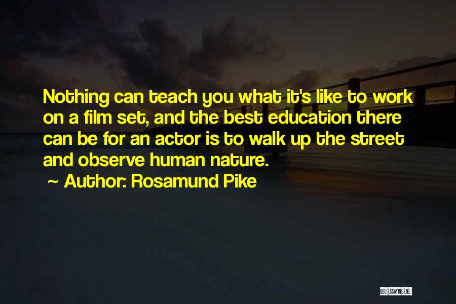 Nature Walk Quotes By Rosamund Pike