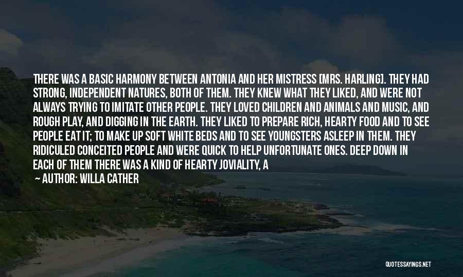 Natures Animals Quotes By Willa Cather