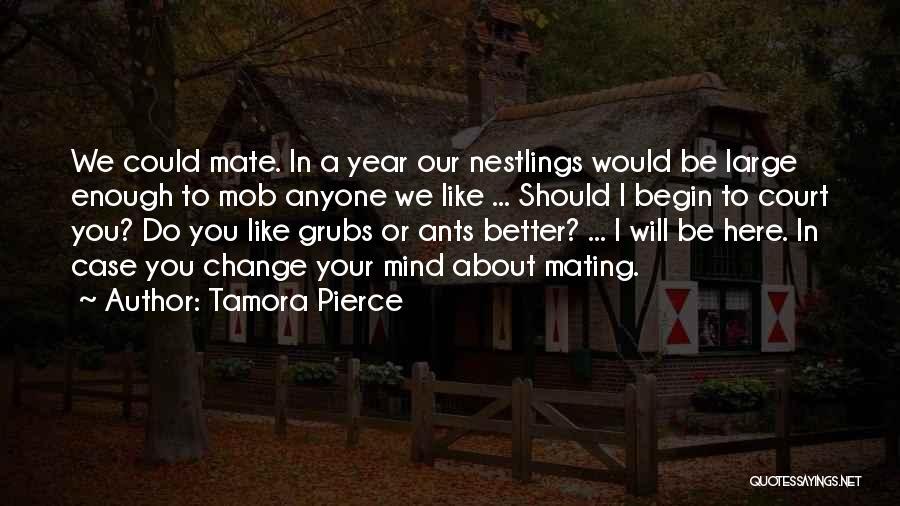 Nawat Crow Quotes By Tamora Pierce