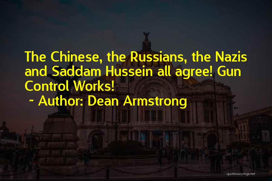 Nazis Quotes By Dean Armstrong