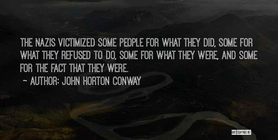 Nazis Quotes By John Horton Conway