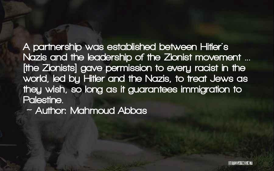 Nazis Quotes By Mahmoud Abbas