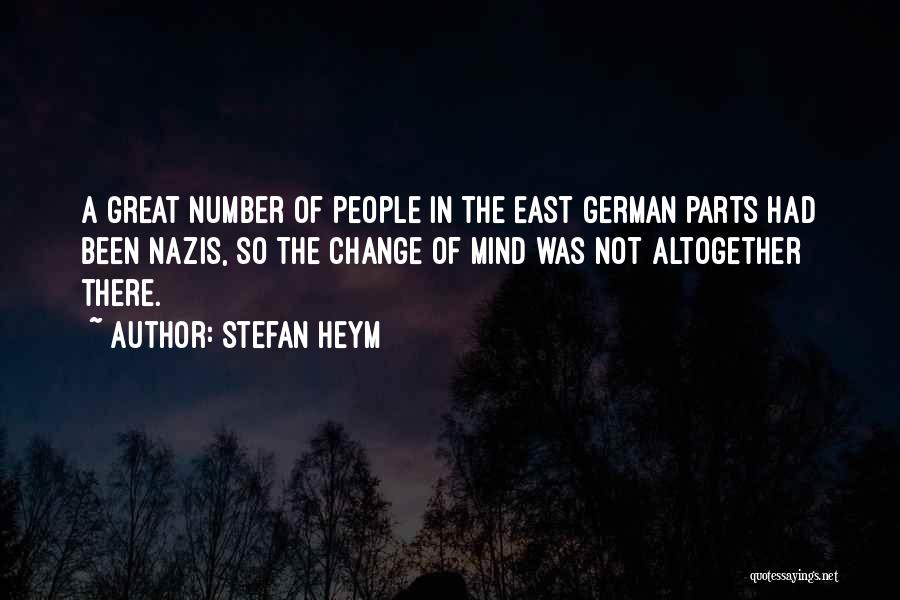 Nazis Quotes By Stefan Heym