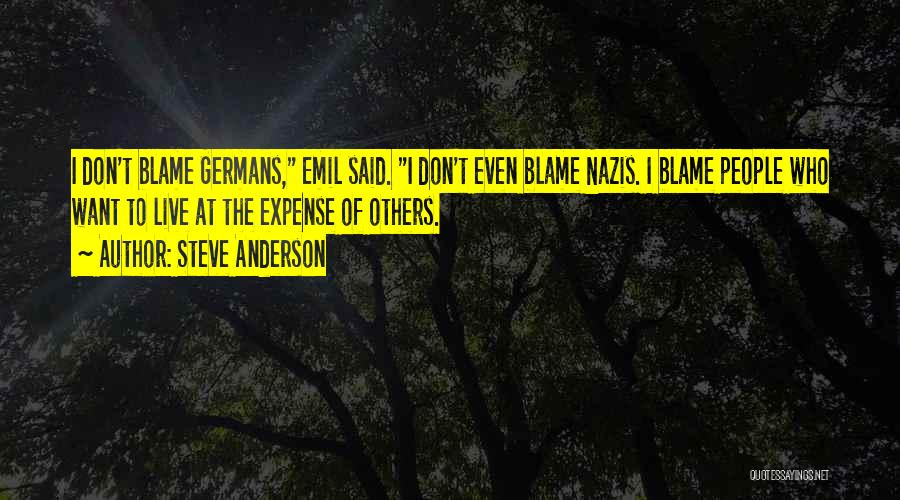 Nazis Quotes By Steve Anderson