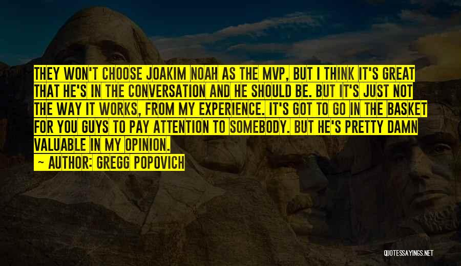 Nba Mvp Quotes By Gregg Popovich