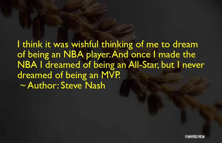 Nba Mvp Quotes By Steve Nash
