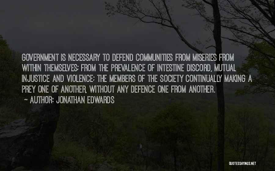 Necessary Violence Quotes By Jonathan Edwards