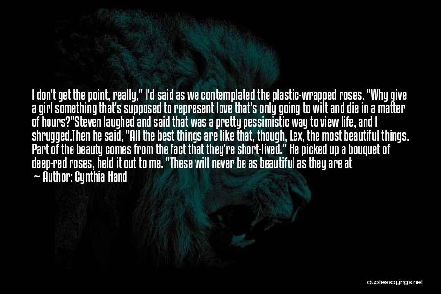 Neck Deep Life's Not Out To Get You Quotes By Cynthia Hand