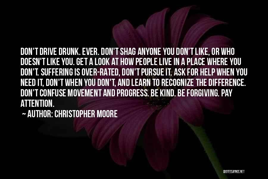 Need For Attention Quotes By Christopher Moore