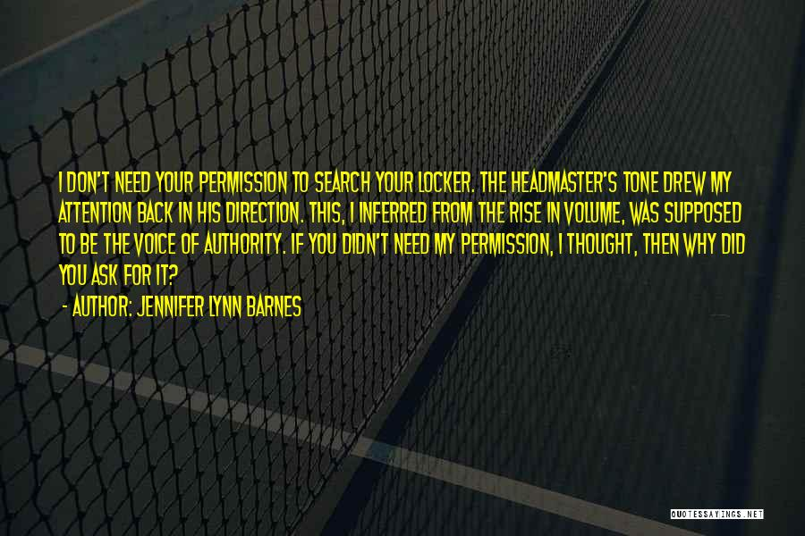 Need For Attention Quotes By Jennifer Lynn Barnes