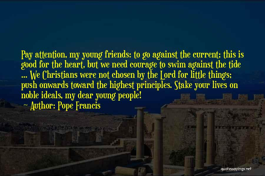 Need For Attention Quotes By Pope Francis