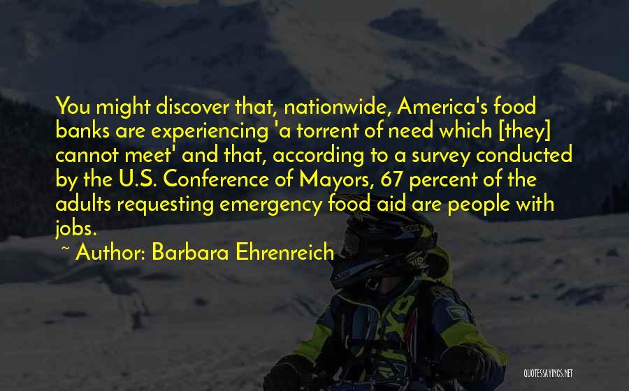 Need U Quotes By Barbara Ehrenreich