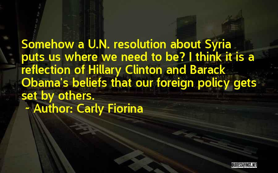 Need U Quotes By Carly Fiorina