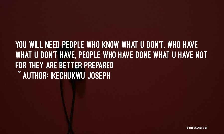 Need U Quotes By Ikechukwu Joseph