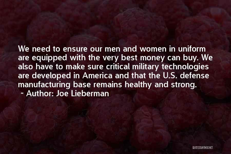 Need U Quotes By Joe Lieberman