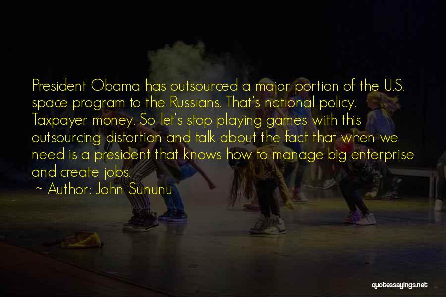 Need U Quotes By John Sununu