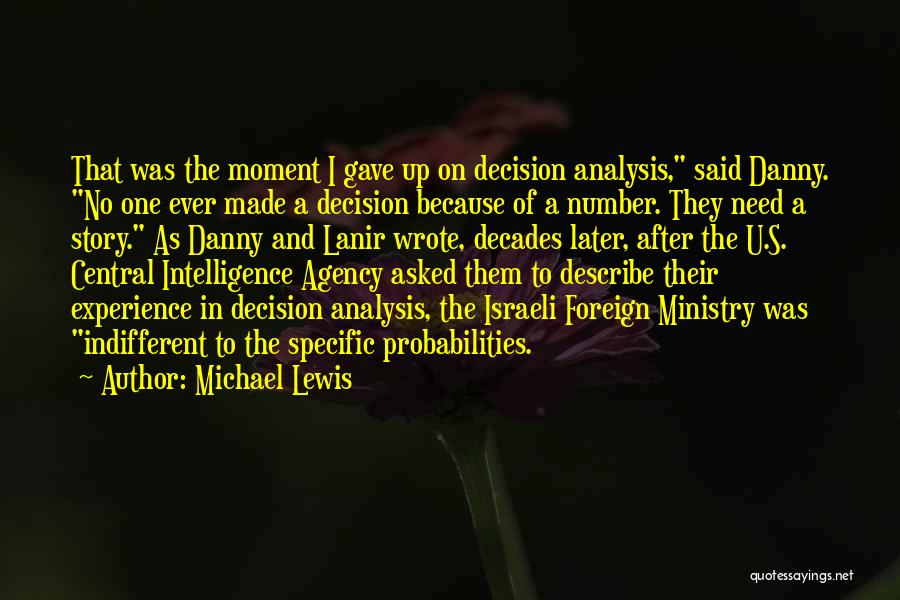 Need U Quotes By Michael Lewis