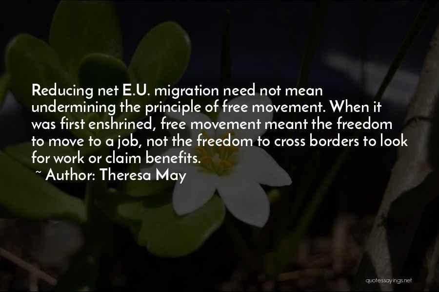 Need U Quotes By Theresa May