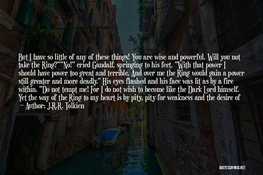 Need You Lord Quotes By J.R.R. Tolkien