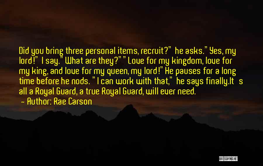 Need You Lord Quotes By Rae Carson