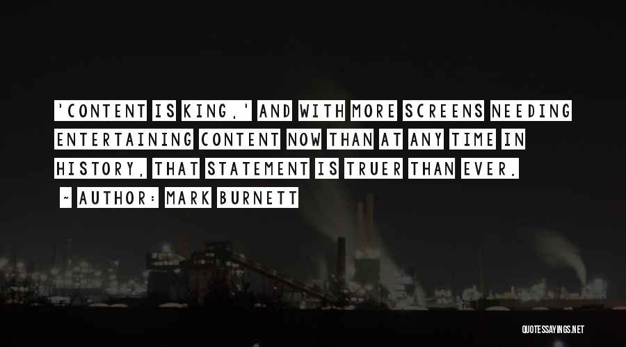 Needing Time Quotes By Mark Burnett