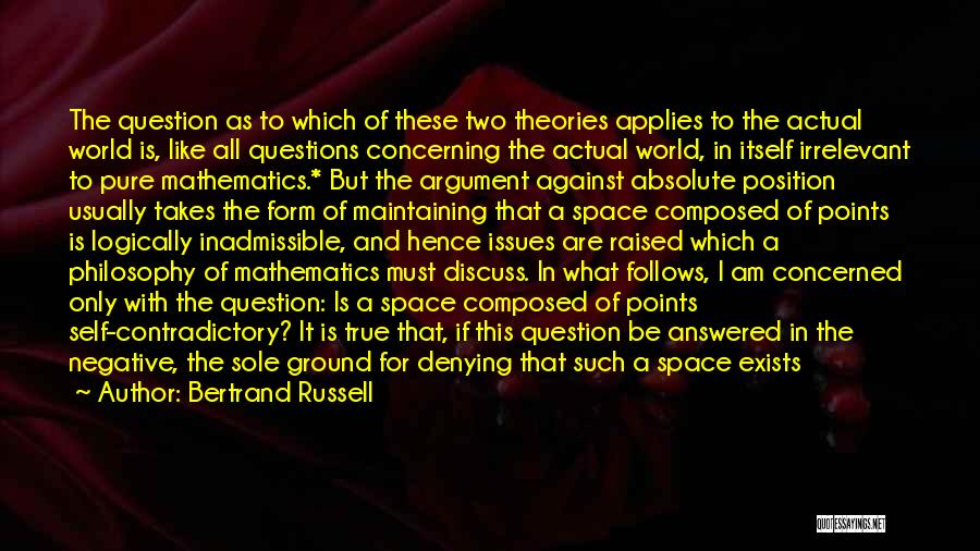Negative But True Quotes By Bertrand Russell